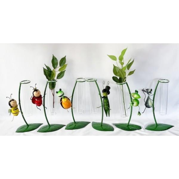 Glass/Metal bud holders - NEW PRODUCT