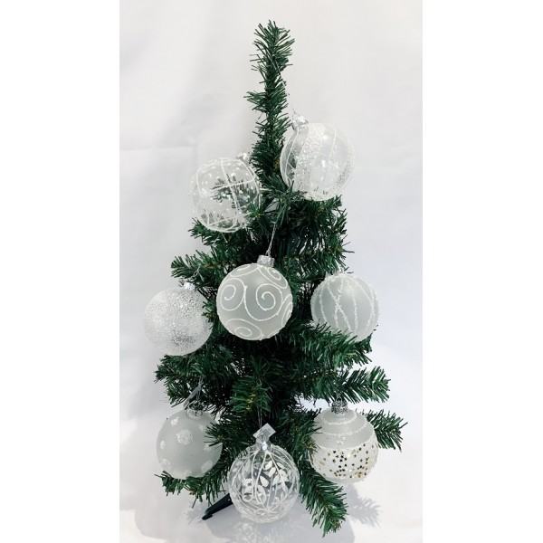 Glass baubles - NEW PRODUCT