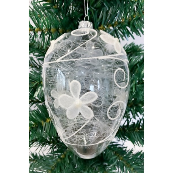 Glass bauble - YUM19010-L