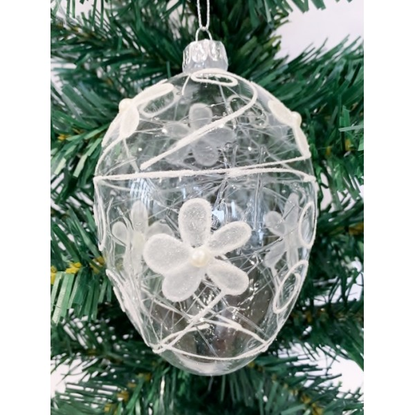 Glass bauble - YUM19010-M