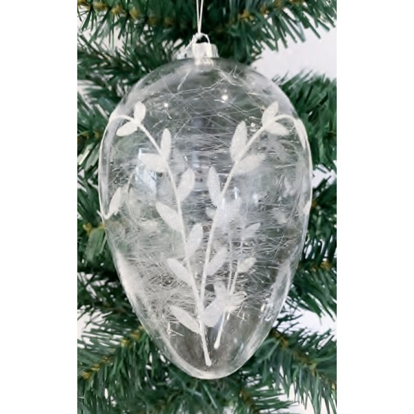 Glass bauble - YUM19011-L