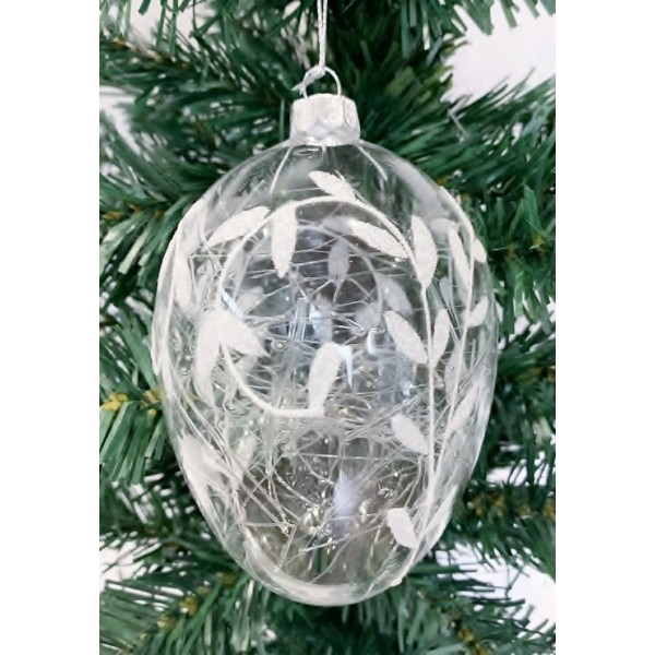 Glass bauble - YUM19011-M
