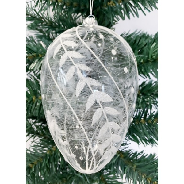 Glass bauble - YUM19015-L