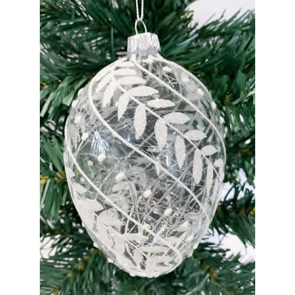 Glass bauble - YUM19015-M