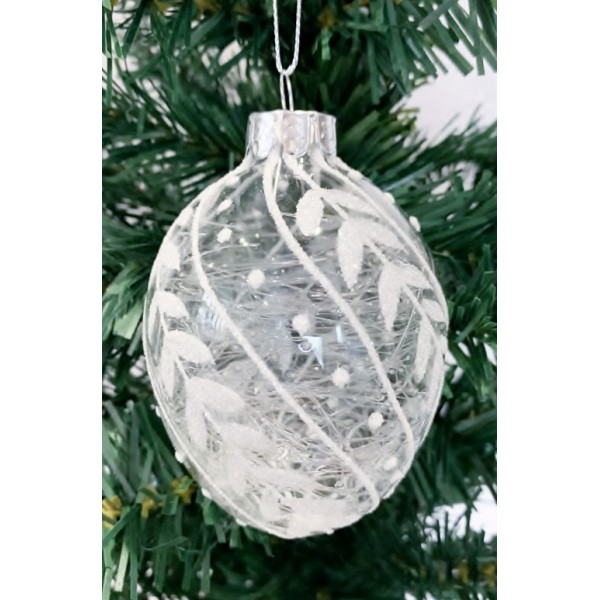Glass bauble - YUM19015-S