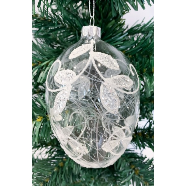 Glass bauble - YUM19023-L