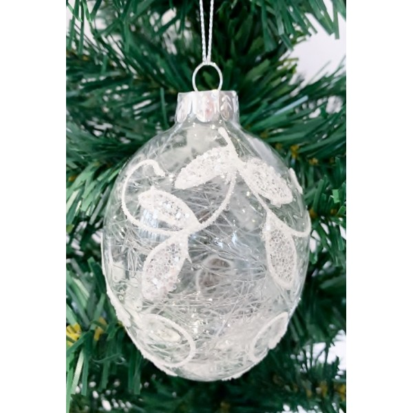 Glass bauble - YUM19023-M