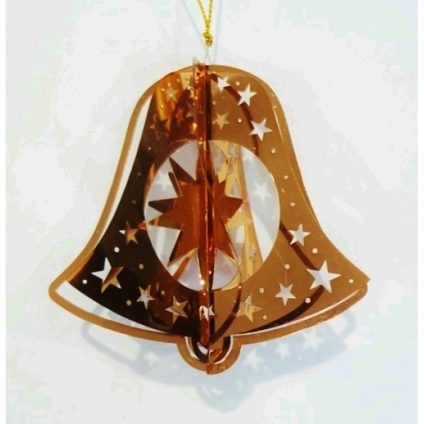 Bell star red copper colour