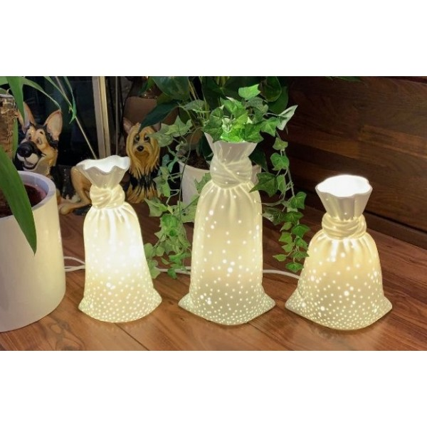 Porcelain vase lamps - NEW PRODUCT