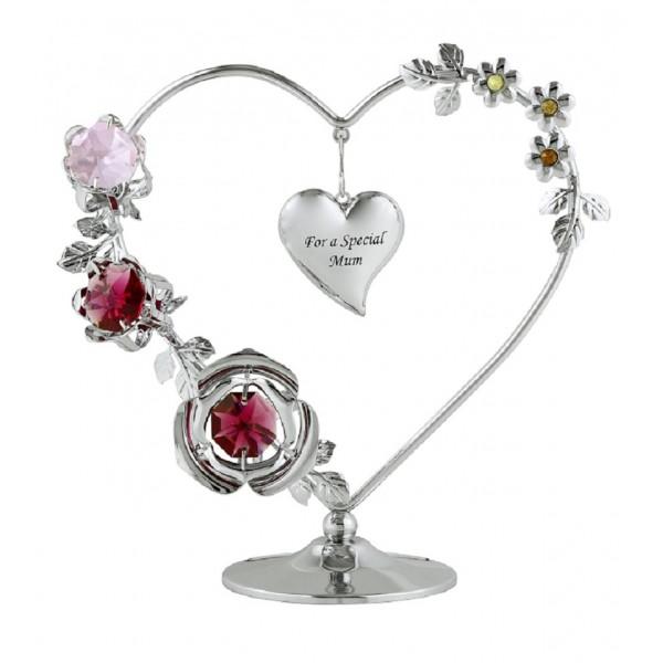 Special mum heart wreath
