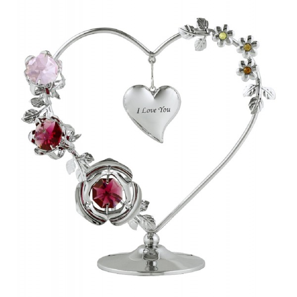 I love you heart wreath