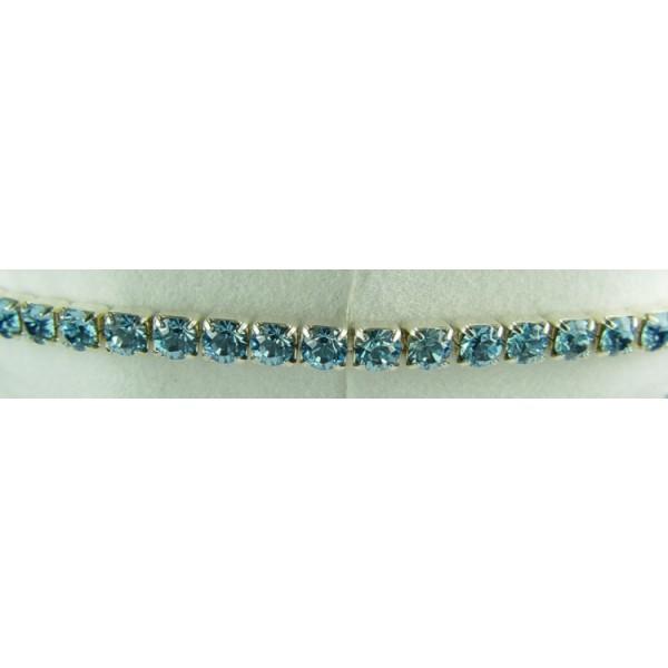 Strech bracelet - Aquamarine