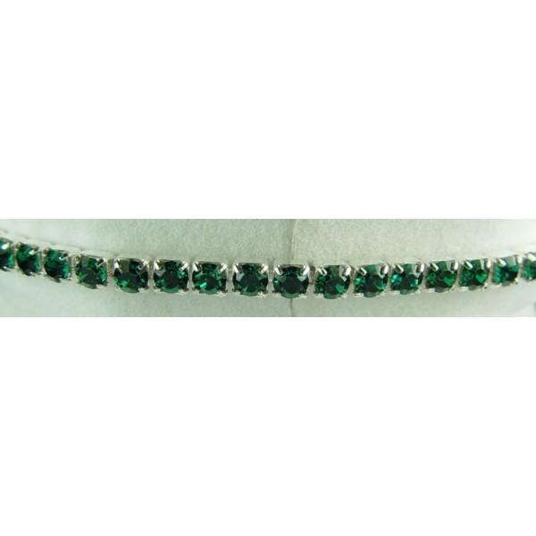 Strech bracelet - Emerald