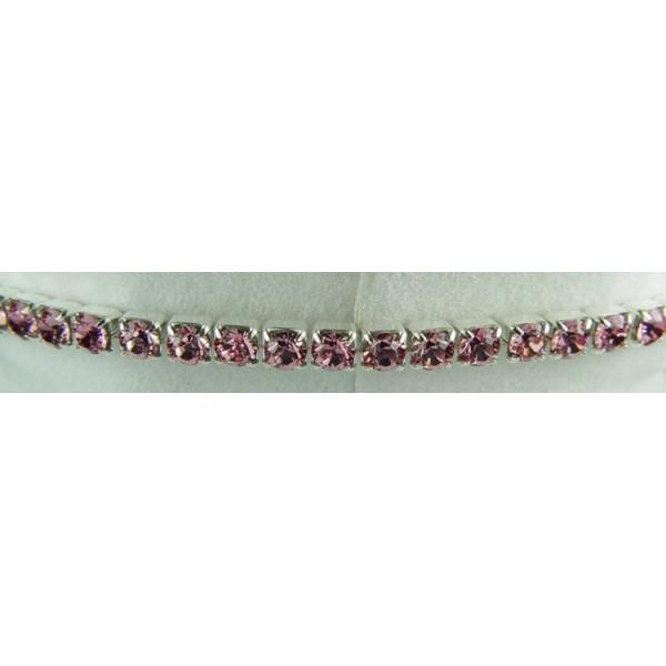 Strech bracelet - Light rose