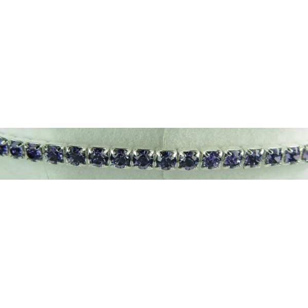 Strech bracelet - Tanzanite