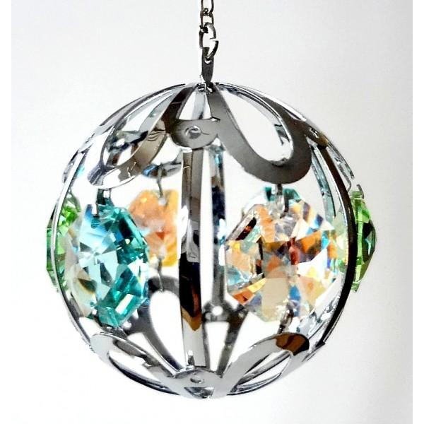 Mini hanging globe