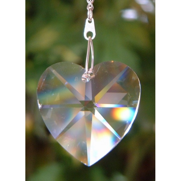 Heart - Plain crystal