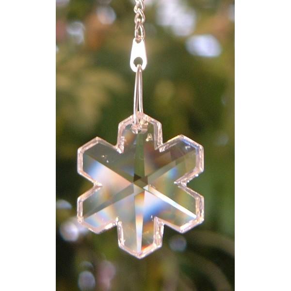 Snowflake - Plain crystal