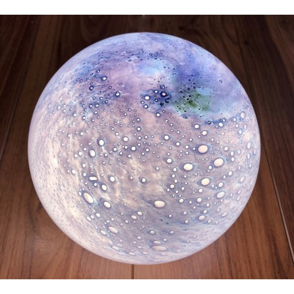 Glass planet lamp - PL003
