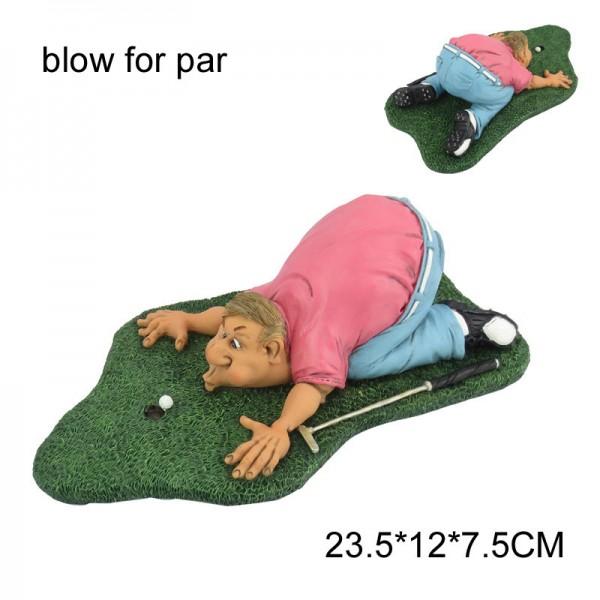 Blow for par