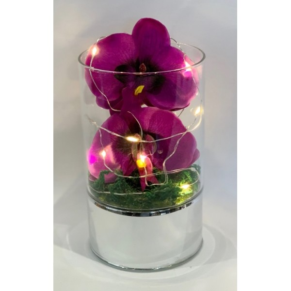 Purple orchid - large