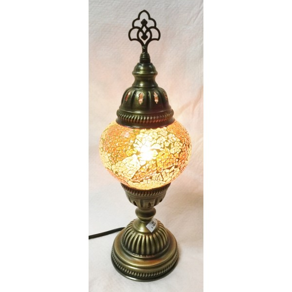 Medium mosaic table lamp