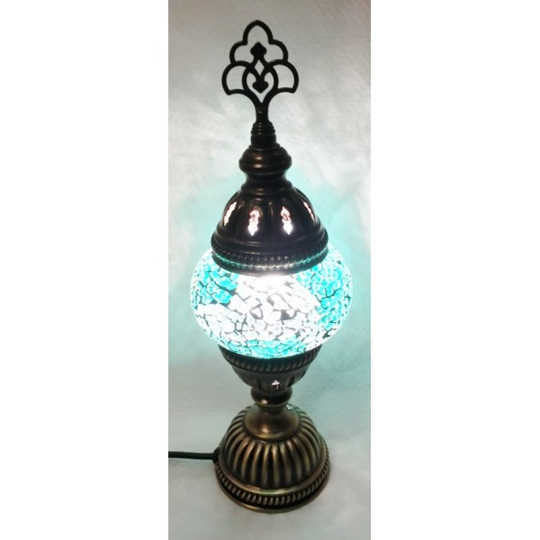 Small mosaic table lamp