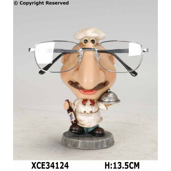 Chef eyeglass holder
