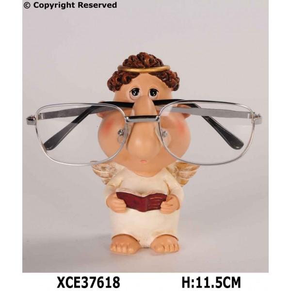 Angel eyeglass holder