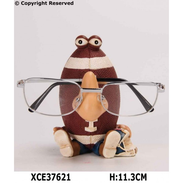 Rugby eyeglass holder