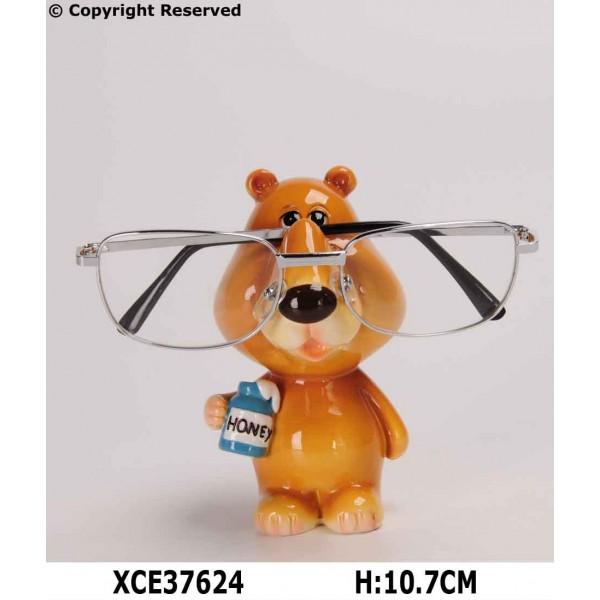 Bear eyeglass holder