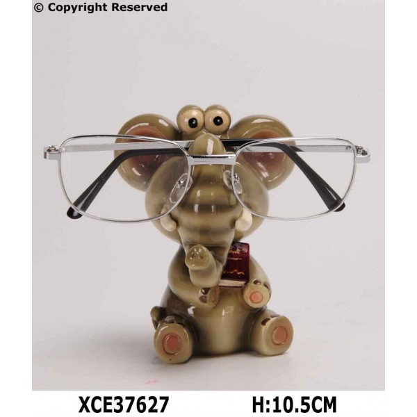 Elephant eyeglass holder